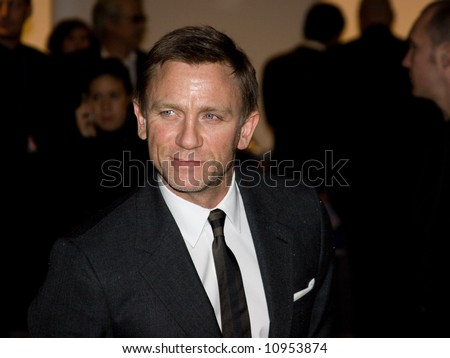 Arrivals at the British Independent Film Awards held at the Roundhouse, London, England. Daniel Craig - stock photo