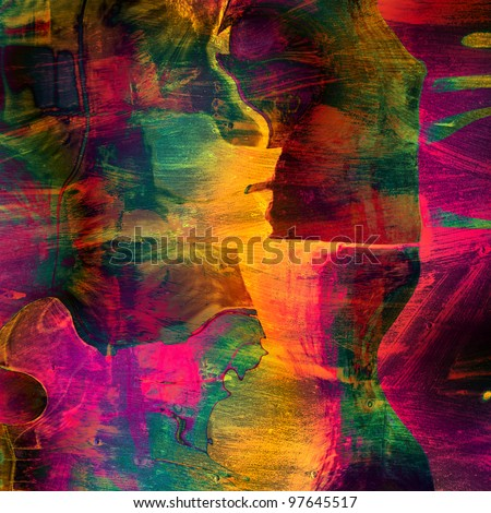 art abstract colorfur vibrant  paper background - stock photo
