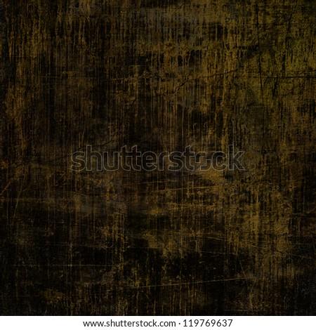 art abstract dark brown grunge textured background - stock photo