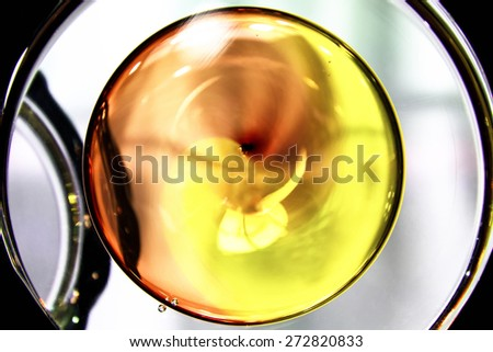 Art abstract glass blur - stock photo