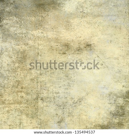 art abstract grunge cement textured background in vanilla, beige, sepia and light grey colors - stock photo