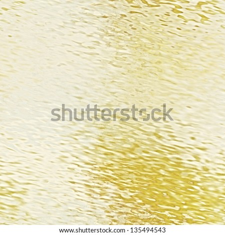 art abstract grunge glass textured background in light golden, sepia and white colors - stock photo