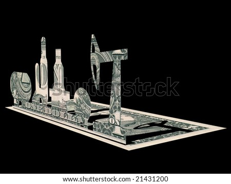 Art and money,Art and business - stock photo