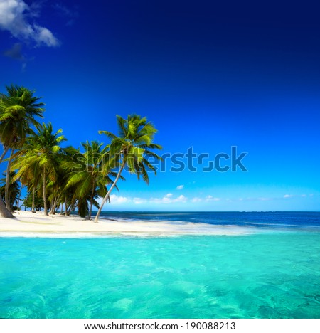 Art  beautiful seaside view  background - stock photo