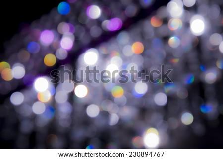 Art bokeh background. Soft defocused lights - stock photo