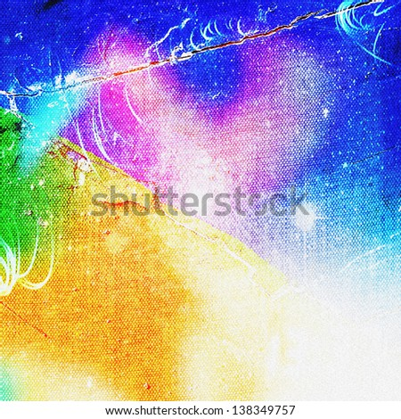 Art color background - stock photo