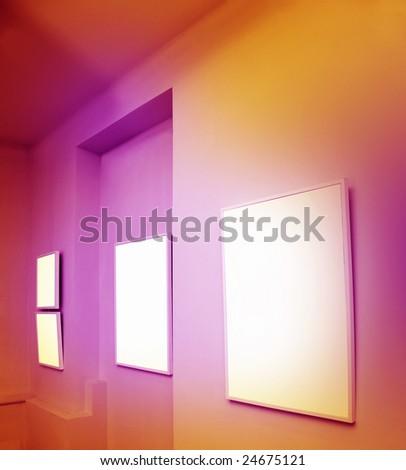 Art gallery - stock photo
