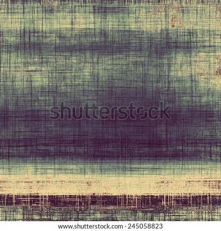 Art grunge vintage textured background. With different color patterns: gray; yellow (beige); brown; blue - stock photo
