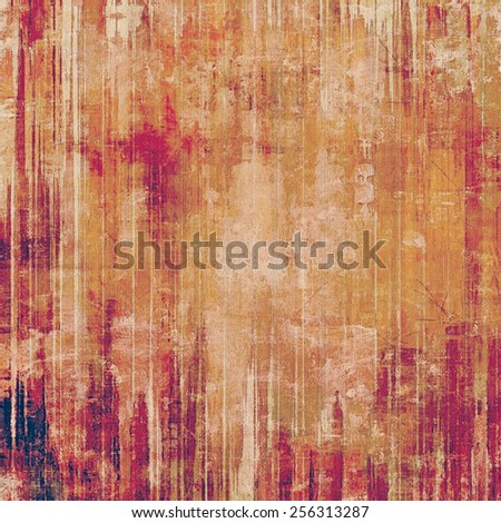 Art grunge vintage textured background. With different color patterns: yellow (beige); brown; purple (violet); pink - stock photo