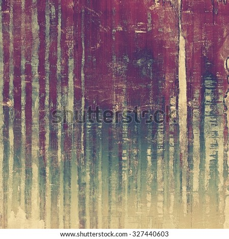 Art grunge vintage textured background. With different color patterns: yellow (beige); gray; green; purple (violet) - stock photo