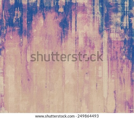 Art grunge vintage textured background. With different color patterns: yellow (beige); gray; purple (violet); blue - stock photo