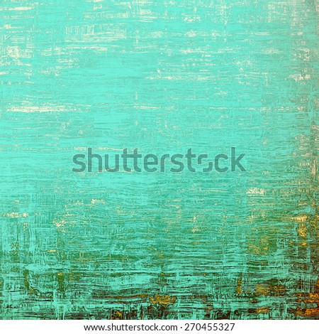 Art grunge vintage textured background. With different color patterns: yellow (beige); green; cyan; blue - stock photo