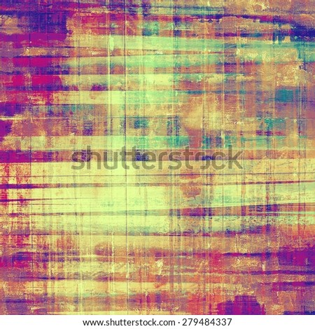 Art grunge vintage textured background. With different color patterns: yellow (beige); green; pink; purple (violet) - stock photo