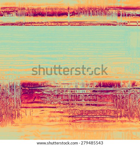 Art grunge vintage textured background. With different color patterns: yellow (beige); pink; blue; purple (violet) - stock photo