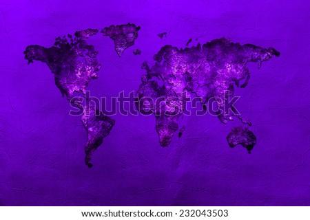 Art map - stock photo