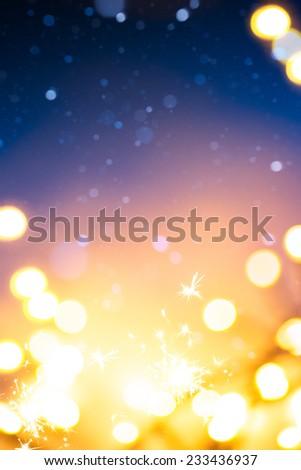 Art new years background - stock photo