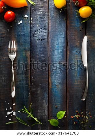 art Restaurant cafe menu, template design - stock photo