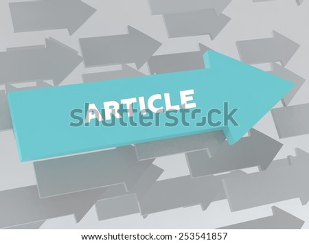 ARTICLE - stock photo