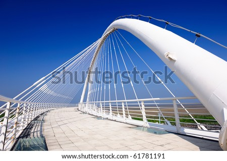 article bridge - stock photo