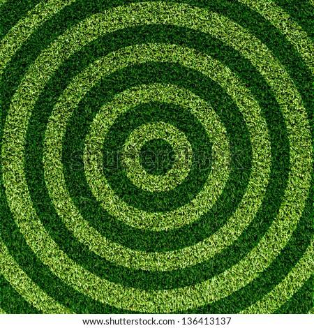 Artificial Grass Field Texture - stock photo