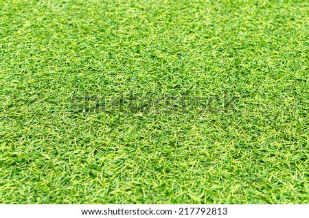 Artificial grass texture for background - stock photo