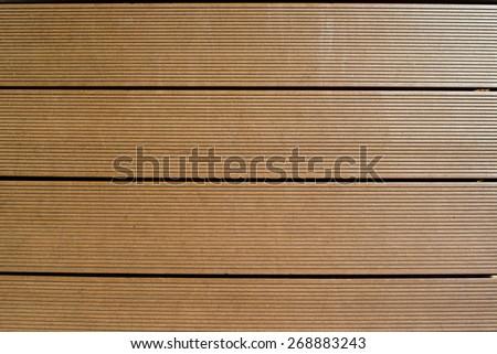 Artificial wood floor - stock photo