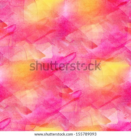 artist grunge texture, watercolor pink seamless background, green vintage hand drawn  background, business background, abstract background, retro background - stock photo