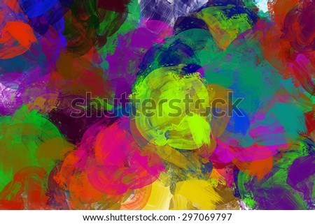 Artistic Background - stock photo