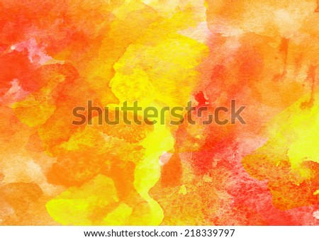 Artistic Colorful Watercolor Background. - stock photo