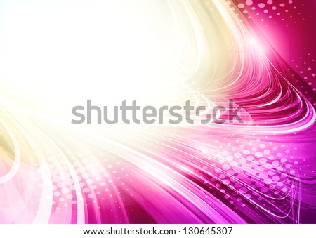 Artistic flower of your love. Rasterized version - stock photo