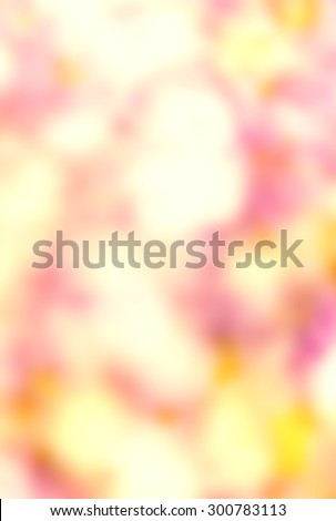 Artistic Soft light abstract background  blurred magic lights for your design. Pink red yellow color. - stock photo