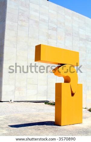 Artistic Statue - stock photo