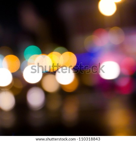 Artistic style-Defocused urban abstract texture background for your design - stock photo