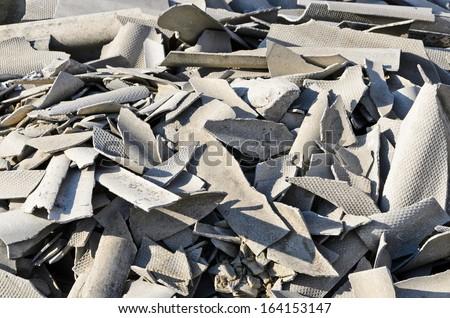 Asbestos  - stock photo