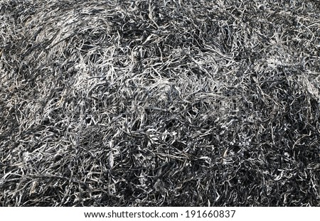 Ash abstract background - stock photo