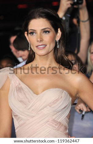 "Ashley Greene at the world premiere of her movie ""The Twilight Saga: Breaking Dawn - Part 2"" at the Nokia Theatre LA Live. November 12, 2012  Los Angeles, CA Picture: Paul Smith - stock photo"