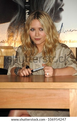 Ashley Olsen  at an in store appearance to sign copies of the new book 'Influence'. Borders Books and Music, Westwood, CA. 11-12-08 - stock photo
