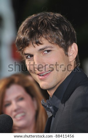 "Ashton Kutcher at the Los Angeles premiere of his new movie ""Killers"" at the Cinerama Dome, Hollywood. June 1, 2010  Los Angeles, CA Picture: Paul Smith / Featureflash - stock photo"
