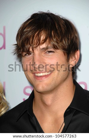 Ashton Kutcher  at the Los Angeles Premiere of 'Spread'. Arclight Cinemas, Hollywood, CA. 08-03-09 - stock photo