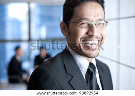 Asian Business Team - stock photo