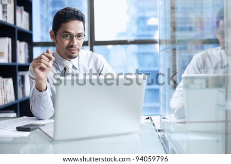 Asian Business Team - stock photo