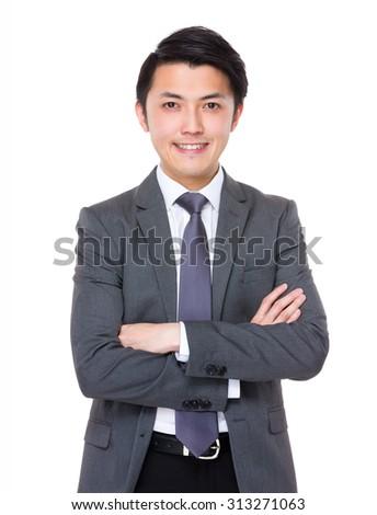 Asian businessman - stock photo