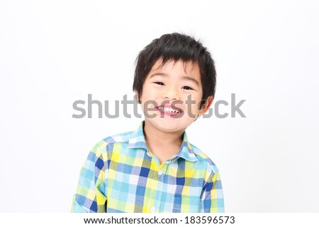 Asian child - stock photo