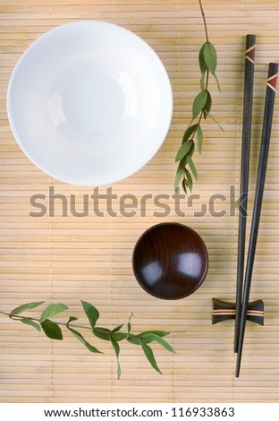 Asian Cuisine - stock photo
