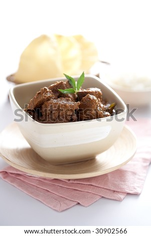 Asian Curry - stock photo