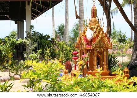 Asian holy - stock photo