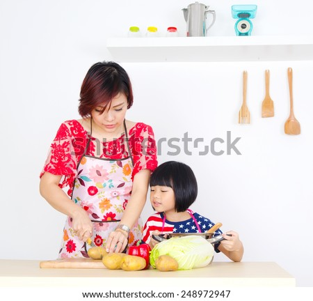 Asian Woman Cooking 74