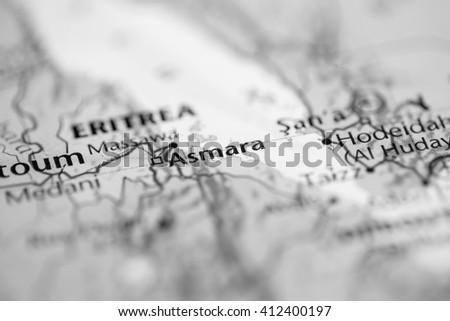 Asmara. Eritrea - stock photo