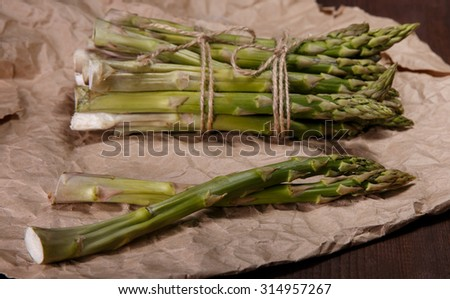 aspargus - stock photo