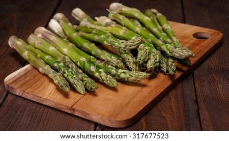 aspargus - stock photo